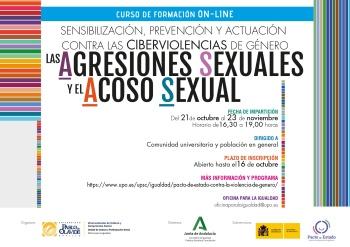 Sensibilización, prevención y actuación contra las ciberviolencias de género, las agresiones sexuales y el acoso sexual