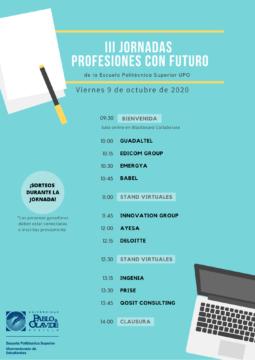 III Jornadas 'Profesiones con Futuro' de la EPS @ Online - Universidad Pablo de Olavide