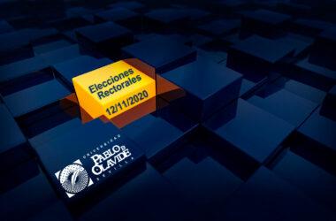 elecciones rectorales: 12 de noviembre de 2020