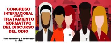 Congreso Internacional sobre el Tratamiento Normativo del Discurso del Odio @ Online - Universidad Pablo de Olavide