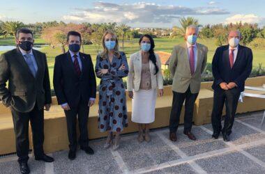 Carlos Echevarría, Enrique Biosca, Rocío Reinoso, Pilar Rodríguez, José Rodríguez y Javier Albert