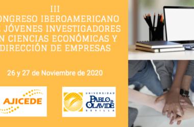 III Congreso Iberoamericano de Jóvenes Investigadores en Ciencias Económicas y Dirección de Empresas