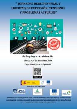 Jornadas Derecho Penal y Libertad de Expresión: tensiones y problemas actuales @ Online - Universidad Pablo de Olavide