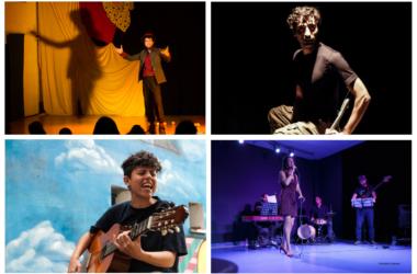 funciones del Programa Cultura Mínima: magia, música, teatro