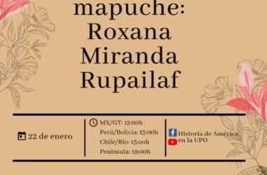 Encuentro con Roxana Miranda