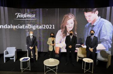 evento 'Andalucía en digital. Innovación y emprendimiento, los motores del cambio andaluz'