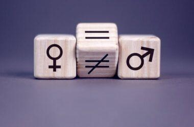 ilustración sobre la igualdad/desigualdad de género
