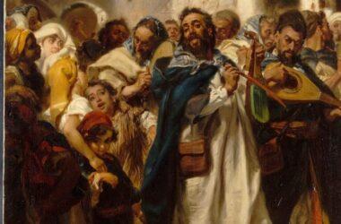 Fiesta judía en Tetúan (Alfred Dehodencq, 1865). Wikimedia Commons