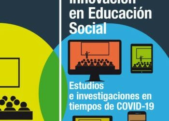 'Investigación e innovación en Educación Social. Estudios e investigaciones en tiempos de Covid-19' (portada del libro)