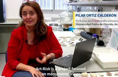 Pilar Ortiz habla sobre Art-Risk