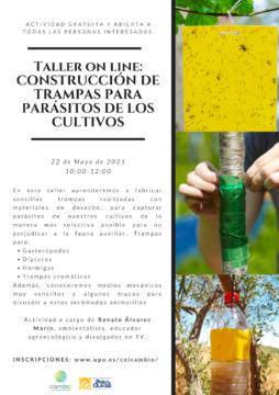 Taller 'Construcción de trampas para parásitos de los cultivos'