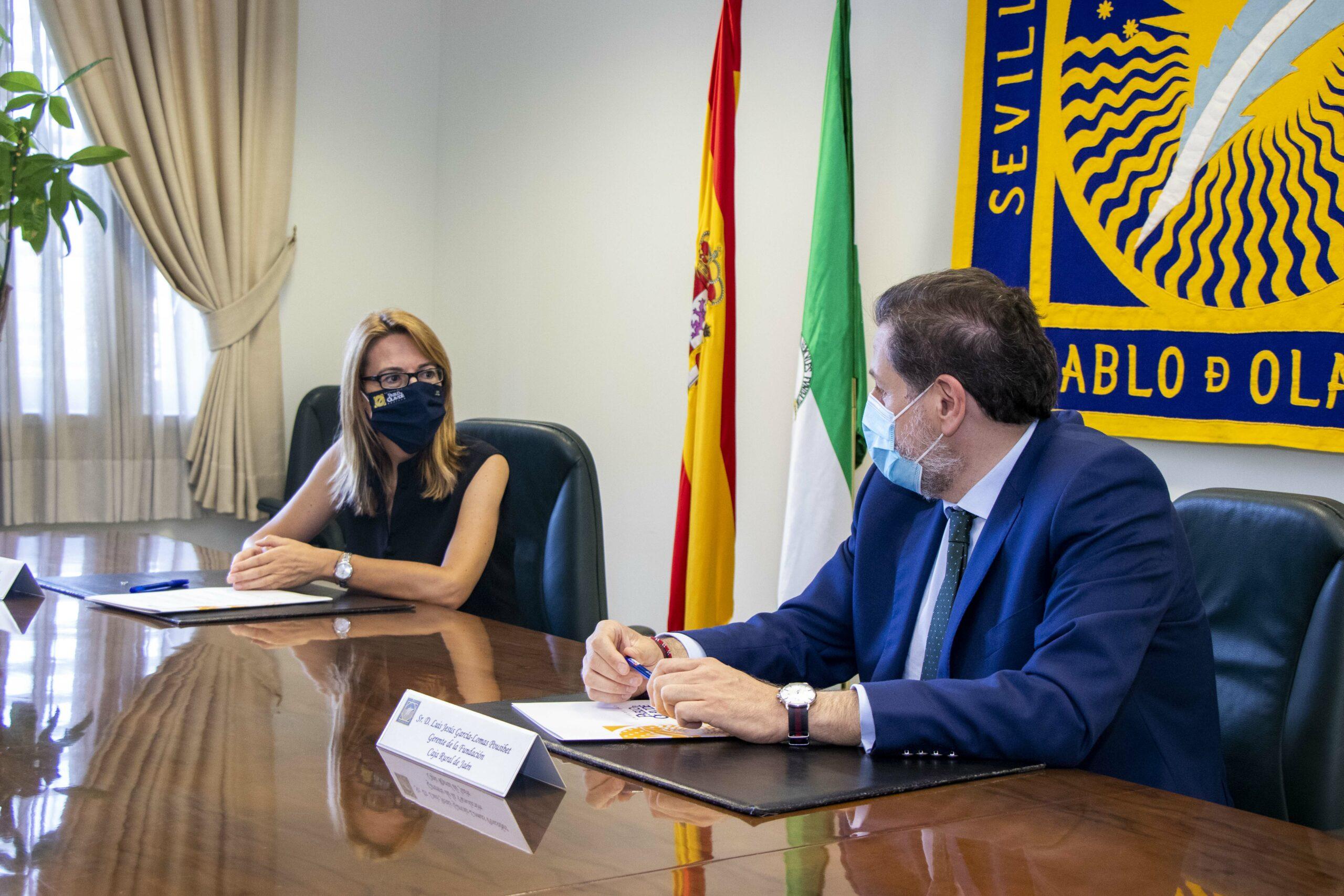 Laura López de la Cruz y Luis Jesús García-Lomas