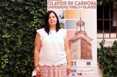 Lidia Beltrán en la sede Olavide en Carmona