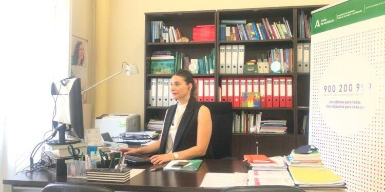 Marta Gómez en el IAM