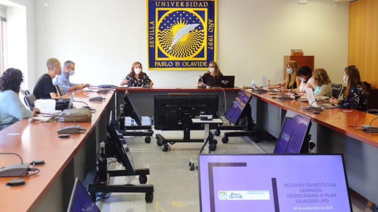Comisión Negociadora del Plan de Igualdad de Género