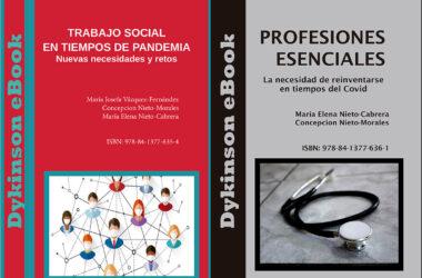 'Trabajo Social en tiempos de pandemia' y 'Profesiones esenciales. La necesidad de reinventarse en tiempos del Covid'
