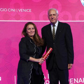 Pilar Ortiz recibe el Premio Europa Nostra 2021 por el proyecto Art-Risk.