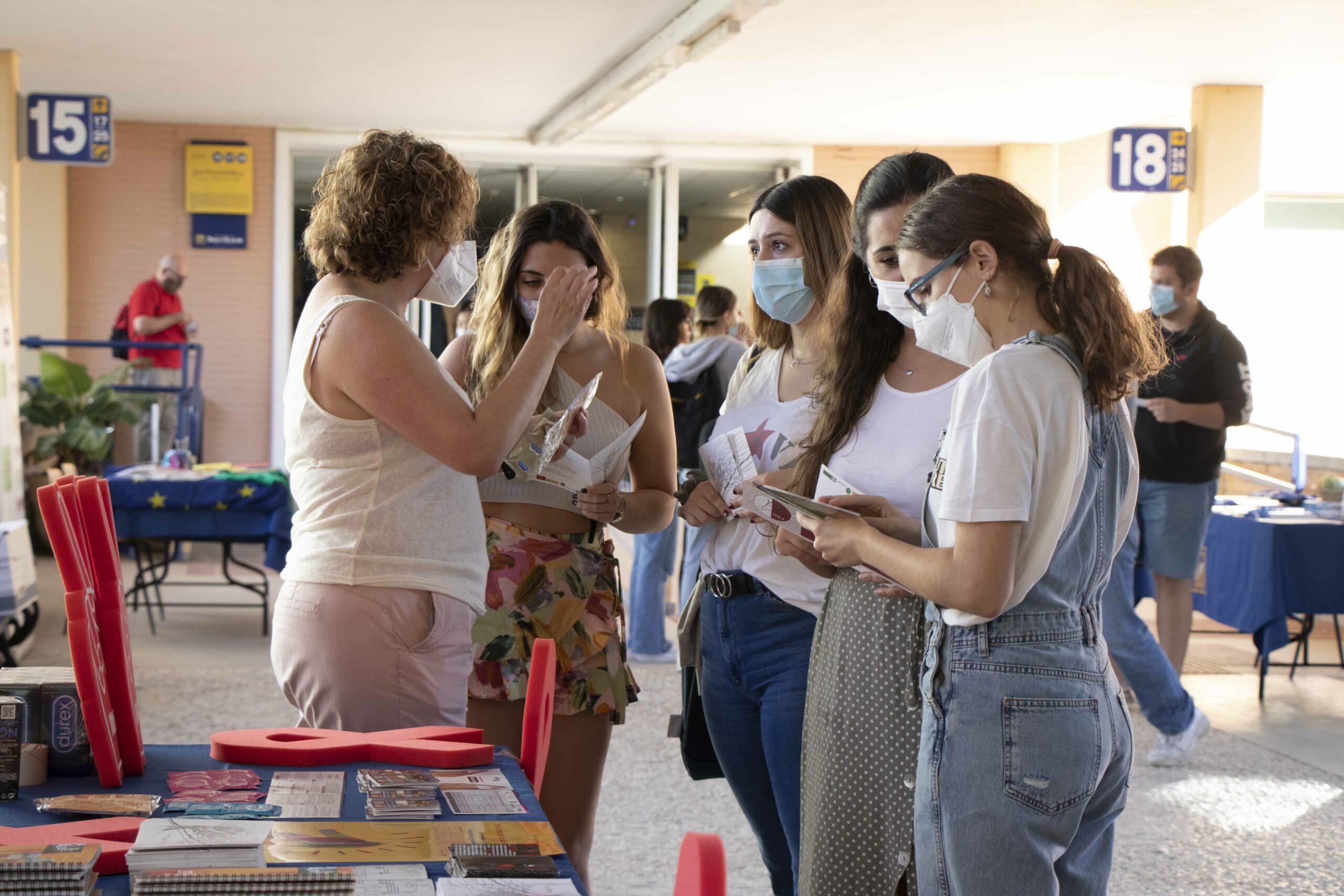 Jornadas de sensibilización de voluntariado universitario