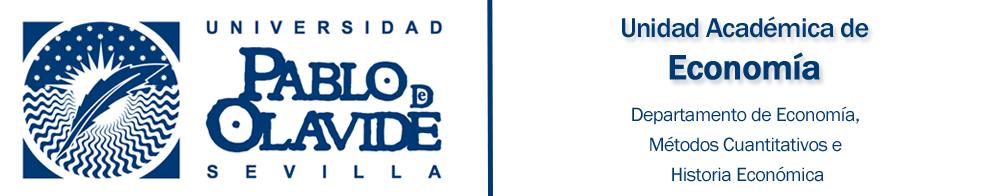 Unidad Académica de Economía · Universidad Pablo de Olavide