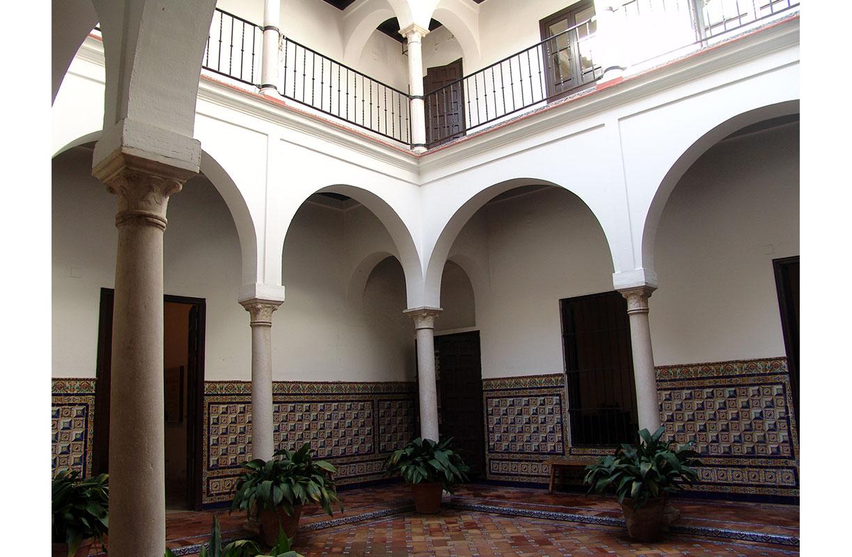 Interior de la Casa Museo de Murillo, Sevilla