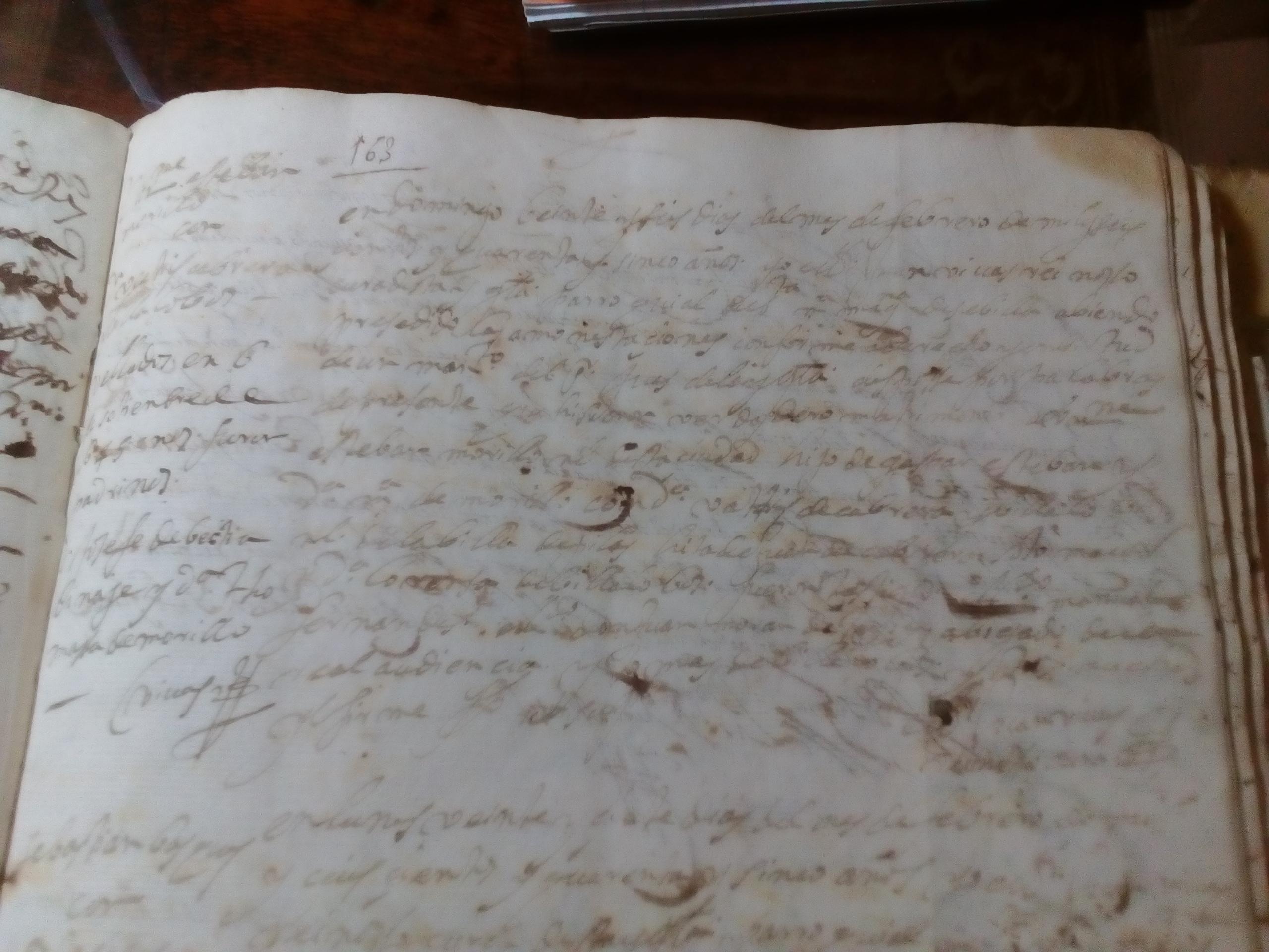 Partida de Matrimonio de Bartolomé Esteban Murillo y Beatriz Cabrera, 1645