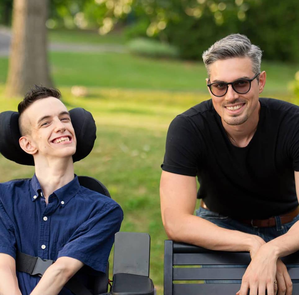 Bradley Heaven y Daniel O'Connor