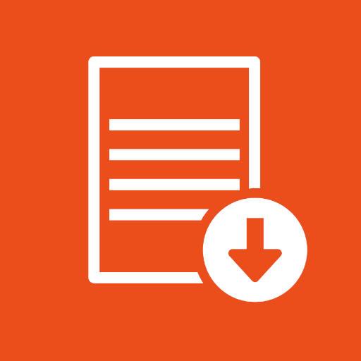 Icono Archivo para descargar