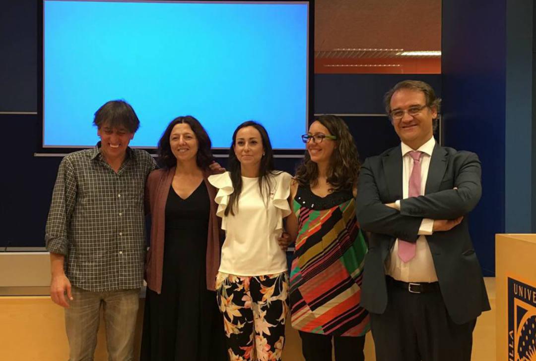 Cristina Ramirez Delgado presenta su tesis