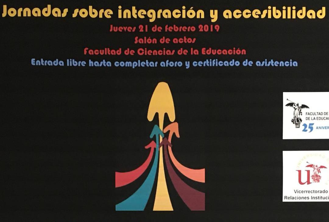 Cartel Jornadas de Integración y Accesibilidad