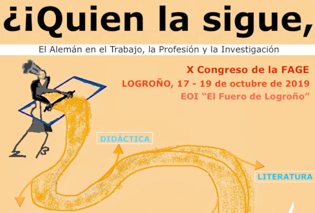 Cartel X Congreso de la FAGE