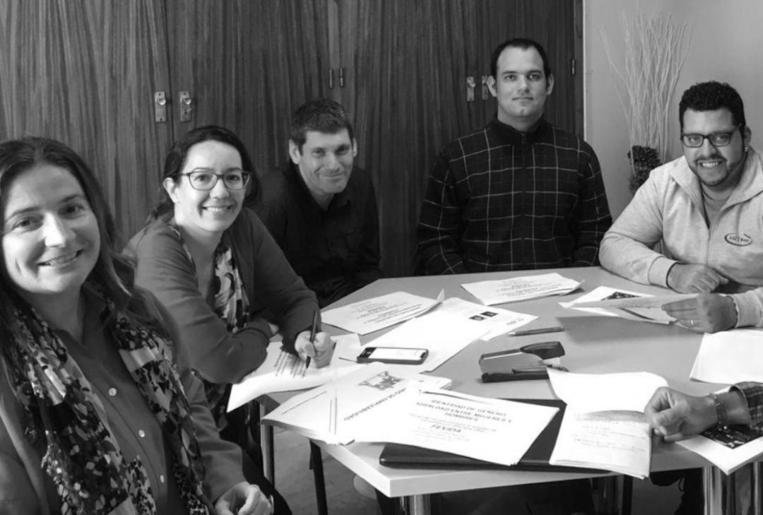 Foto grupal equipo FEVIDA
