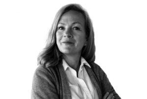 Foto en blanco y negro Alice Stender