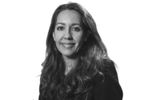 Foto Ana Medina Reguera en blanco y negro