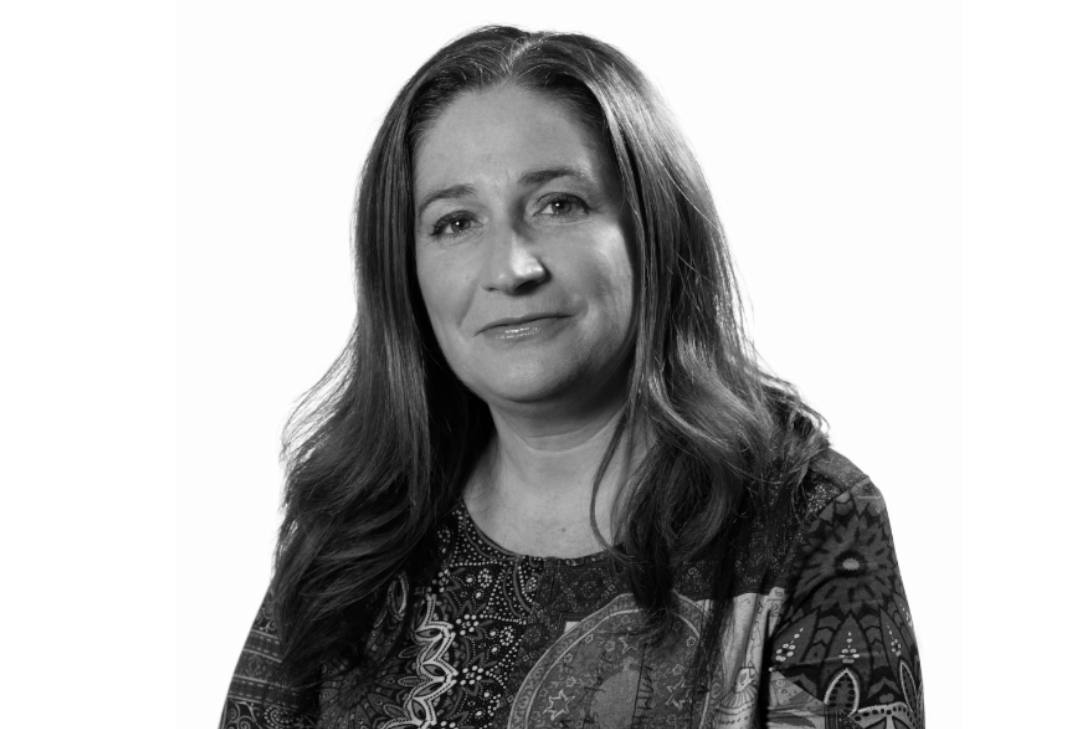Foto Patricia Balaguer en blanco y negro