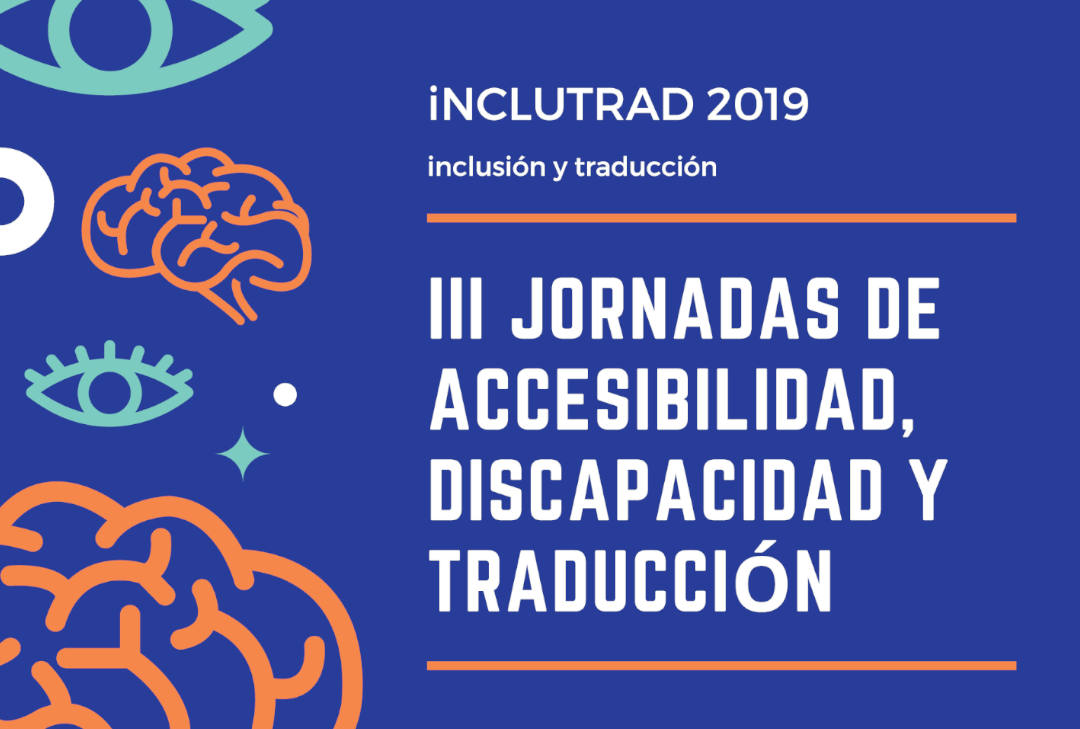 Cartel Jornadas de Accesibilidad, Discapacidad y Traducción