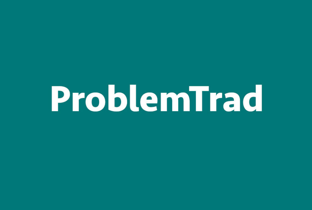 Proyecto ProblemTrad sobre fondo verde