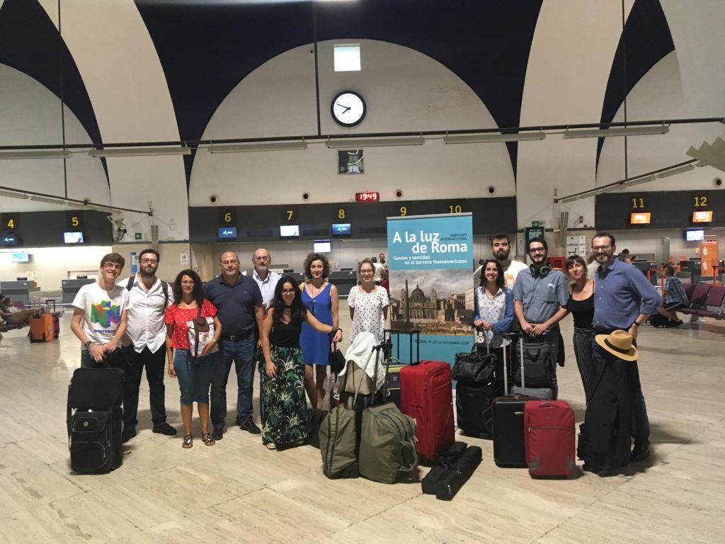 Foto de familia: Preparados para viajar a Roma