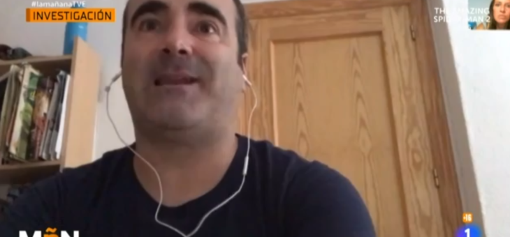 Manuel Pérez García, entrevistado en La Mañana de RTVE