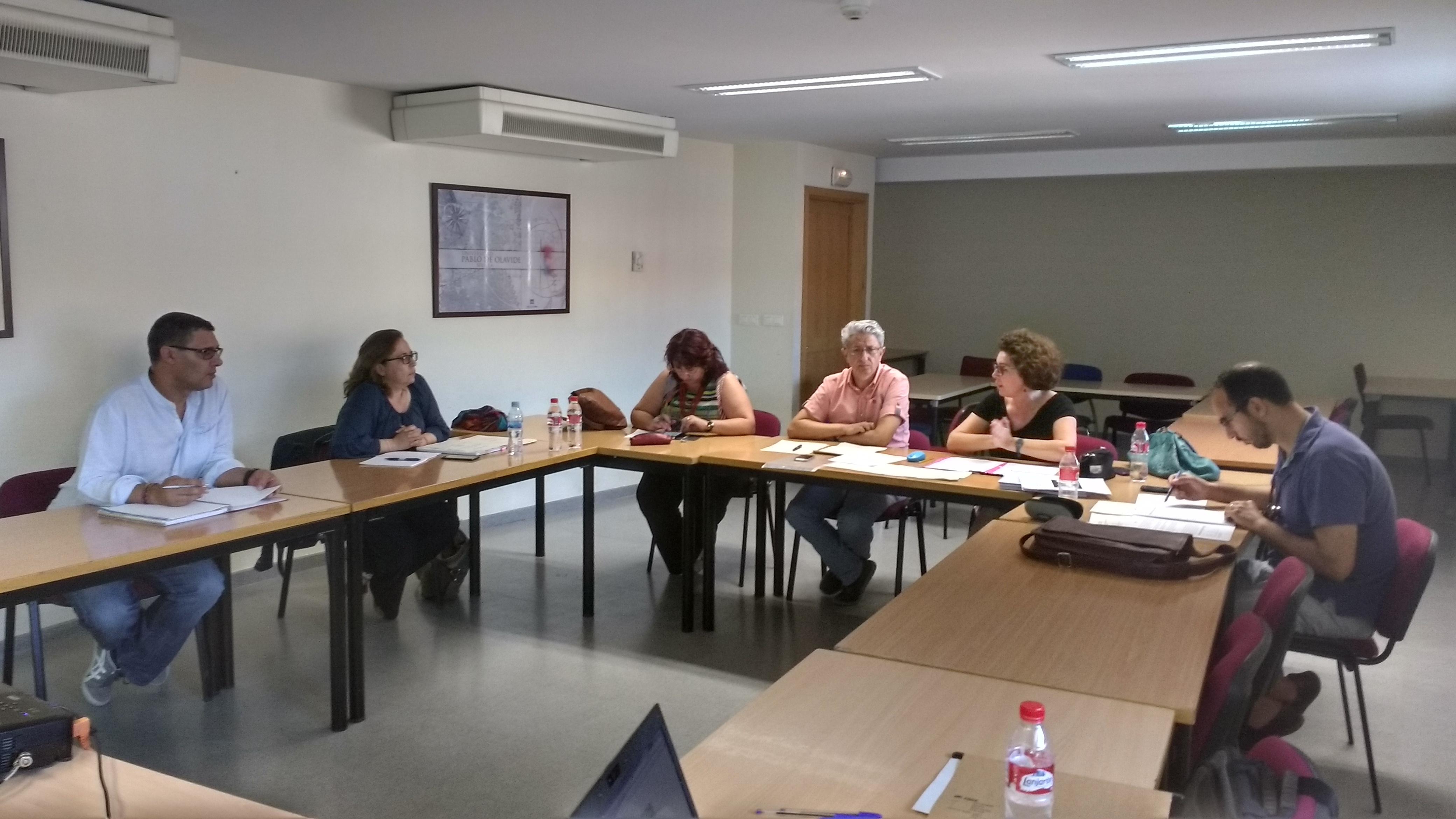 """Reunión del proyecto"""" Urban Impacts"""" en la UPO"""