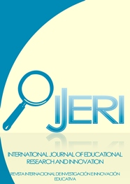 Portada de la revista International Journal of Educational Research and Innovation (IJERI)