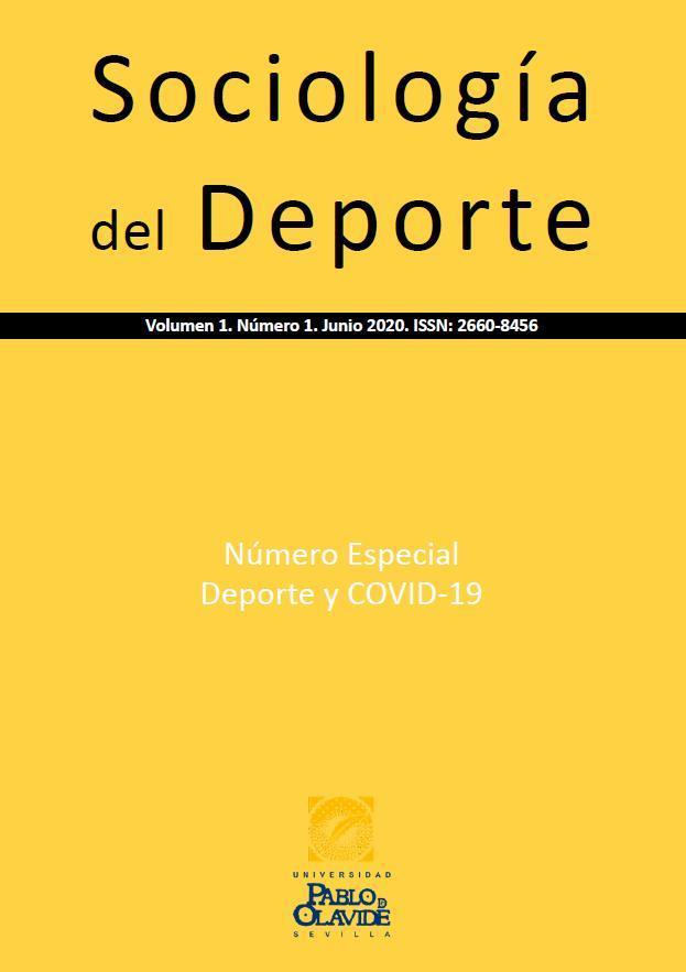 Portada del Volumen 1, Número 1, de la revista Sociología del Deporte (SD)
