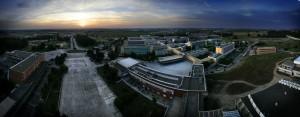 Vista del Campus de la Universidad Pablo de Olavide